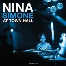 NINA SIMONE - AT TOWN HALL (180 GR. BLUE VINYL)  VINYL LP NEUF