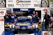 ARI VATANEN Subaru Legacy RS Australian Rally 1993 Photographie 3