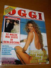 OGGI 1995/32=ALBA PARIETTI=MINA=BIAGIO ANTONACCI=FIDEL MBANGA BAUNA=CAPRIOTTI M.