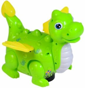 Christmas Walking Dinosaur Laying Egg + Music & Lights For Baby Toddlers