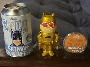 Funko Soda Sleestak INSPIRED Gold Chase Batman Custom Figure Original