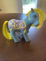 Vintage G1 My Little Pony Merry Go Round BRILLIANT BLOSSOMS - Carousel Pony