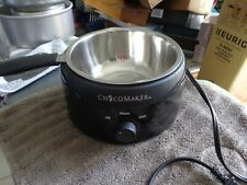 Choco Maker 120V 2-Pound Chocolate Candy Fondue Melter - Black