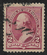 US # 219D (1890) 2c George Washington - Used - XF