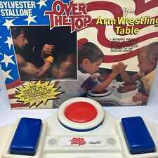 Vintage 1986 Lewco Over The Top Arm Wrestling Table Sylvester Stallone