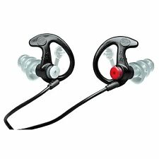 Surefire Sonic Defender Plus Ear Plugs in Medium, Black,1-Pair, Model# EP4BKMPR