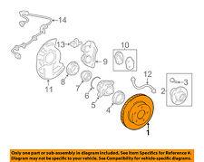 TOYOTA OEM 03-09 4Runner Front Brake-Disc Rotor 4351235322