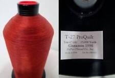 NOS Monocord Bonded Nylon Thread ProQuilt T-27 Tex-27 Cinnamon 15,000 yard Spool