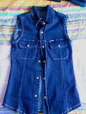 Lotto 303 camicia donna jeans TG. S