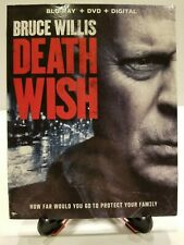 Death Wish (BluRay + DVD) W/ Slipcover BUY 2 GET 1 FREE