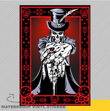 Voodoo High Priest Vinyl Sticker Decal Window Car Van Bike 2686