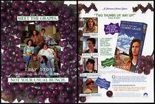WHAT'S EATING GILBERT GRAPE__Original 1994 Trade AD promo__JOHNNY DEPP__DICAPRIO