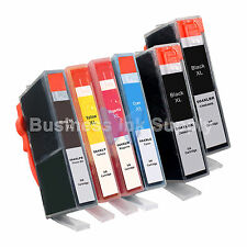 6* PK 564XL New Ink Cartridge W/CHIP 564XL *INK LEVEL 564XL 2BK+3CLR+1PH for HP