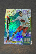 Panini Adrenalyn XL euro 2012 Robert Lewandowski Limited Edition em Polonia