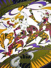 Original Anne Fish BEAUTIFUL DANCERS of ARABIA PERSIA 1922 Art Deco Print Matted