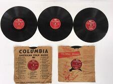 Lot of 5 Vintage Columbia Records - Tony Bennett / Sammy Kaye / Guy Mitchell