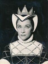 Maria Casarès 1955 - Actrice Costume Marie Tudor de Jean Villar - Div 11282