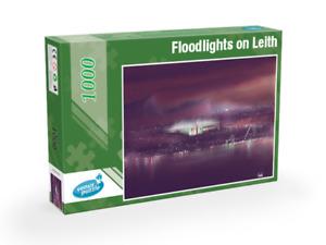 Floodlights on Leith - Hibernian  - 1000 piece Jigsaw