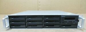 "Synology Rackstation RS10613XS+ 10 x 3.5"" Bay SATA NAS Network Attached Storage"