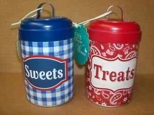 The PIONEER WOMAN Tin Canisters SWEETS & TREATS