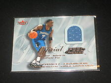 TERRELL BRANDON WOLVES GENUINE CERTIFIED AUTHENTIC WORN JERSEY BASKETBALL CARD