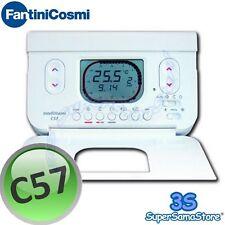 3S CRONOTERMOSTATO C57 FANTINI COSMI BIANCO PROGRAMMAZIONE SETTIMANALE DIGITALE