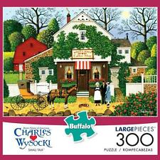 BUFFALO GAMES PUZZLE SMALL TALK CHARLES WYSOCKI 300 PCS #2615