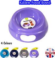 Pet Bowls Cat Kitten Food Bowl Water Dish Feeding Animal UK Seller