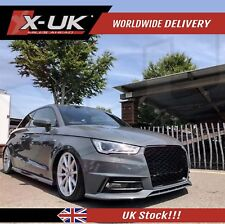 """Audi A1 2015+ to RS1 front grill """"Full honeycomb mesh design"""""""