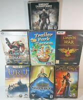 Lot of 7 Bundle Computer PC Games