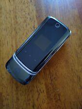 Motorola Moto KRZR K1 Verizon Wireless Camera Flip Cell Phone black K1 krazer 3G