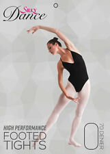 Silky Dance High Performance Full Footed Ballet Tights, Theatrical Pink