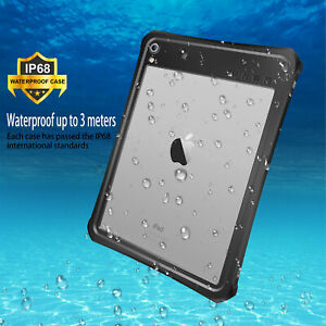 """Waterproof Shockproof Full Case Cover for iPad Pro 9.7"""" 10.5"""" 12.9'' iPad Air 2"""