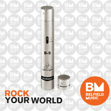 Behringer B-5 Condenser Microphone Gold-Sputtered Diaphragm Studio Mic B5 - BNIB