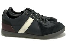 DIOR HOMME NAVY FASHION SNEAKERS, 39, $795