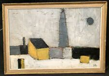 1950s French / Russian Landscape Construction in manner of Nicolas DE STAEL