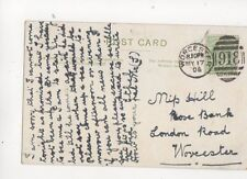 Miss Hill Rose Bank London Road Worcester 1906 131b