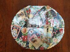 "Mary Engelbreit Table Cover Oilcloth Mottos 20"" X 17"""