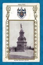 "1911 ""JA-JA"" HERALDIC PC BOER WAR SOLDIERS MONUMENT, HALIFAX, YORKSHIRE"