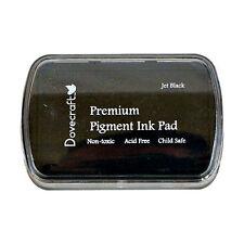 Jet Black Dovecraft Premium Pigment Ink Pad - Cards Scrapbooking DCIP01