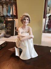 New ListingFranklin Mint Princess Diana Doll On Cushion