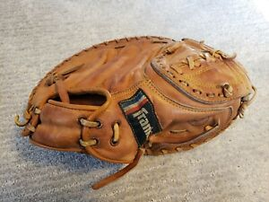 """VINTAGE 1960'S FRANKLIN 4257 YOUTH CATCHERS MITT 9"""" RIGHT HANDED THROWER"""