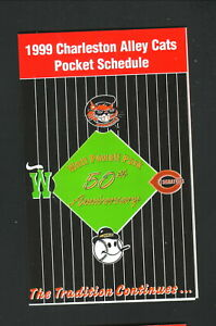 Charleston Alley Cats--1999 Pocket Schedule--Toyota--Royals Affiliate