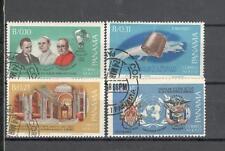 R9876 - PANAMA 1967 - SERIE COMPLETA AEREA PAOLO VI N°380/83 - VEDI FOTO