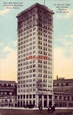 THE AMICABLE LIFE INSURANCE BUILDING, WACO, TX 1911 tallest bldg in the South