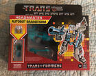 Transformers Generations Retro Reissue Headmaster Autobot BRAINSTORM & ARCANA