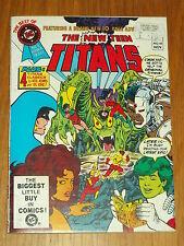 DC BLUE RIBBON DIGEST BEST OF #18 NEW TEEN TITANS 1981 BRITISH POCKET BOOK (B)