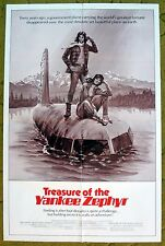 """""""TREASURE OF THE YANKEE ZEPHYR"""" Forgotten Relic filled with Gold  - Movie poster"""
