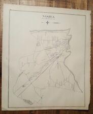 Antigüedad Mapa - Nashua O Nuevo Ipswitch -Nuevo Hampshire- 1892 Atlas