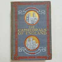 The Cathedrals of England by M.J. Taber Hardcover 1904 Antique Book Gilt Edge